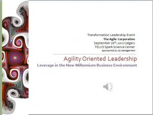 TEDTalk Leadership Leverage for Transformation 2012